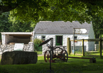 Traditionelles Cottage im Dun Na Si Amenity Heritage Park, County Westmeath