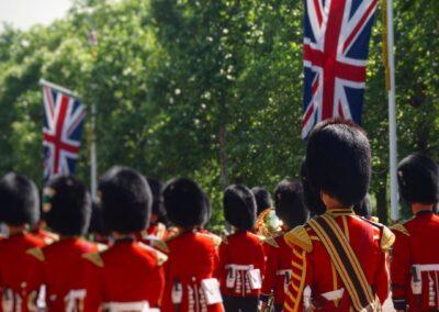 Wachablösung am Buckingham Palace