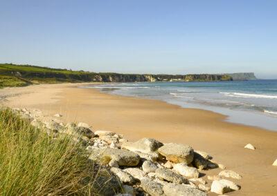 Whitepark Bay Strand im County Antrim